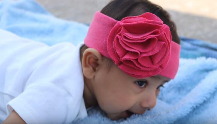 آموزش تل نوزادی با استفاده از تیشرت قدیمی