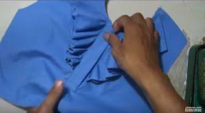 دوخت پایین دوبل یقه  آموزش برش و دوخت یقه لباس مناسب برای شومیز  مدل یقه