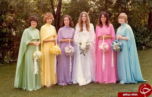 لباس ساقدوش با طرح و رنگ متفاوت
