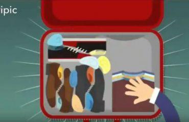 5 ترفند کاربردی برای بستن چمدان