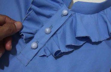 آموزش برش و دوخت یقه لباس به همراه تصویر