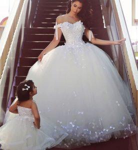 آموزش لباس عروس پرچین
