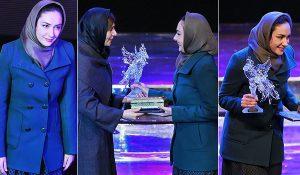 هانیه توسلی برنده جایزه بهترین بازیگر زن