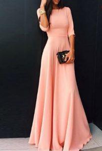 لباس پوشیده و ساده