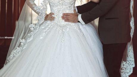 6 مدل دامن لباس عروس