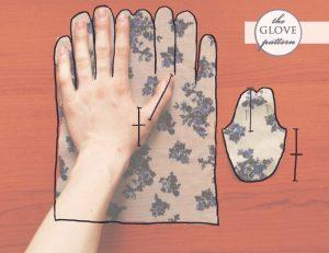 الگوی دوخت دستکش