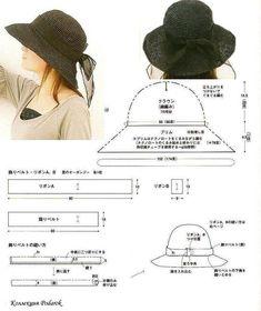 دوخت کلاه تابستانی در چند مدل به همراه الگو