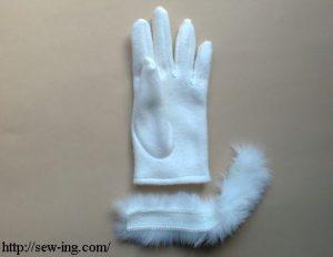 دوخت دستکش
