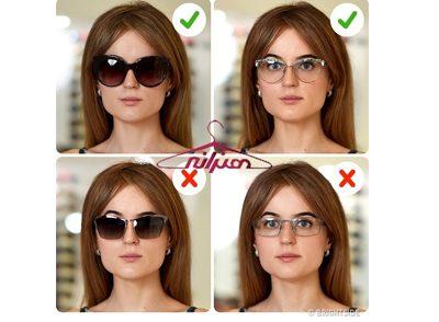 عینک مناسب با فرم صورت